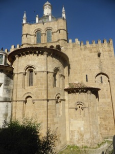 355. Coimbra. Catedral. Cabecera