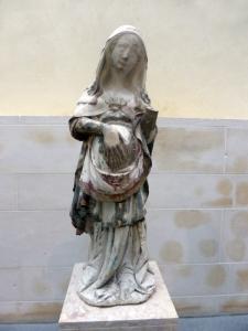 398. Coimbra. Museo Machado de Castro. Virgen de la Esperanza procedente de la catedral. Maestro Pero. Siglo XIV