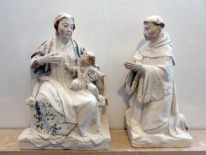 406. Coimbra. Museo Machado de Castro. Lactancia de San Bernardo. 1530-1540. Juan de Rouen. Monasterio de Celas