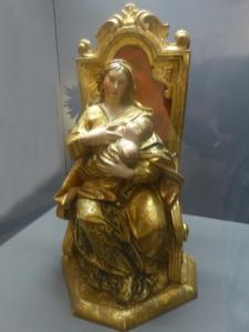 412. Coimbra. Museo Machado de Castro. Virgen de la Leche. XVIII. San Antonio dos Olivais