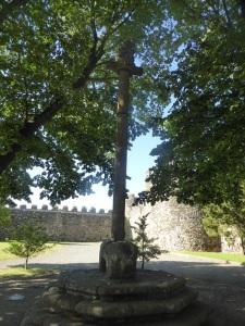574. Bragança. Castillo. Pelourinho