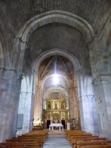 595. San Martín de Castañeda. Nave central