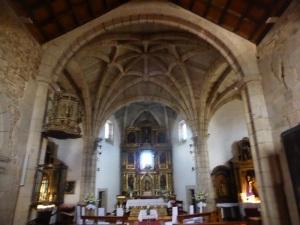 632. Puebla de Sanabria. Santa María del Azogue. Interior