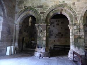 Arcos separación nave central y norte
