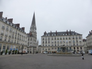 016. Nantes. Plaza Royale