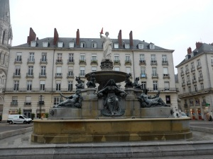 017. Nantes. Plaza Royale
