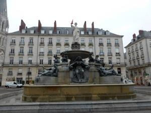 017. Nantes. Plaza Royale
