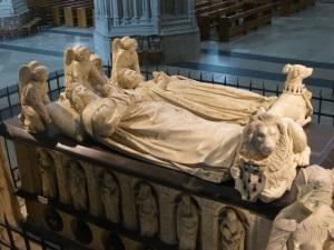 036. Nantes. Catedral. Sepulcro de Francisco II y Margarita de Foix