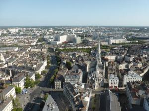 105. Nantes desde la torre Bretagne