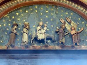 1402. Parma. Baptisterio. Huída a Egipto
