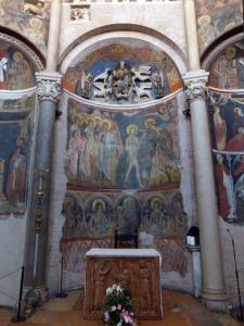 1410. Parma. Baptisterio. Ábside al norte