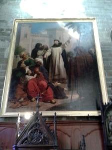 156. Vannes. Catedral. San Vicente predicando a los infieles