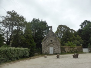 346. Carnac. Castillo de Kercado. Capilla