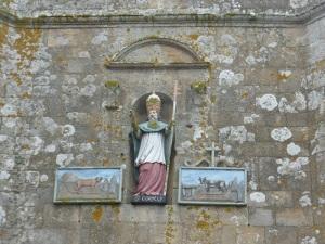 389. Carnac. Iglesia de San Cornelio