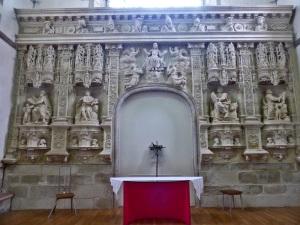 409. Quimperlé. Santa Cruz. Retablo de la Ascensión 1541