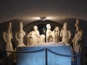 412. Quimperlé. Santa Cruz. Puesta en el sepulcro. Hacia 1500