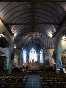 496. Pleyben. Iglesia. Interior