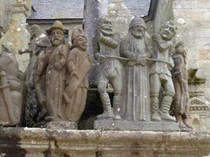 619. Saint Thégonnec. Calvario