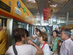 002. Llegada aeropuerto Pequín