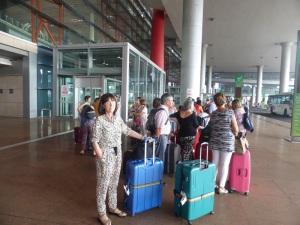 005. Llegada aeropuerto Pequín