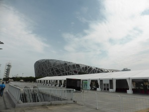 012. Pequín. Zona Olímpica. Estadio Nido de Pájaro