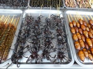 090. Pequín. Mercado Donghuamen