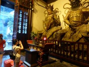 1013. Shangai. Templo de los Budas de Jade
