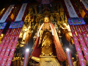 1020. Shangai. Templo de los Budas de Jade