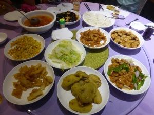 1029. Shangai. Restaurante