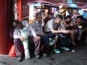 1054. Shangai. Bazar Yu