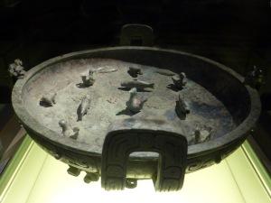1125. Museo de Shangai. Recipiente para agua. Primera 770-700 a. C.