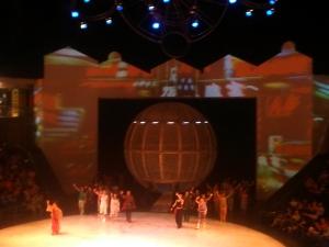 1149. Shangai. Circo de acrobacia