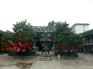 1168. Zhujiajiao. Templo taoista