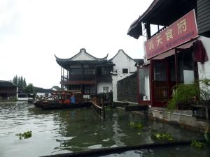 1194. Zhujiajiao. Paseo por los canales