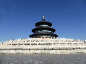 137. Pequín. Parque del Templo del Cielo. Sala de rogativas para las buenas cosechas