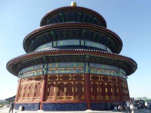 141. Pequín. Parque del Templo del Cielo. Sala de rogativas para las buenas cosechas