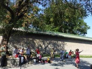 160. Pequín. Parque del Templo del Cielo