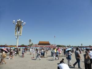 172. Pequín. Plaza Tiananmén