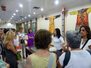214. Pequín. Fábrica de sedas