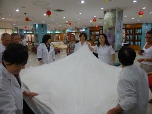 217. Pequín. Fábrica de sedas