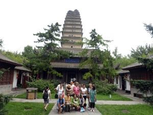 400. Xian. Pequeña pagoda de la Oca