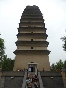 403. Xian. Pequeña pagoda de la Oca