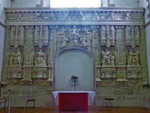 408. Quimperlé. Santa Cruz. Retablo de la Ascensión 1541