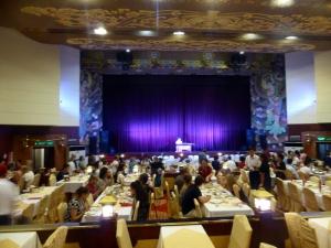 433. Xian. Cena-espectáculo de la Dinastía Tang