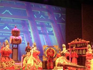 440. Xian. Cena-espectáculo de la Dinastía Tang
