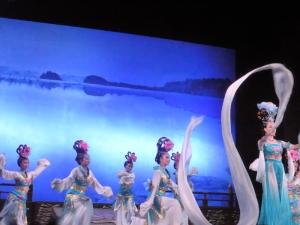 441. Xian. Cena-espectáculo de la Dinastía Tang