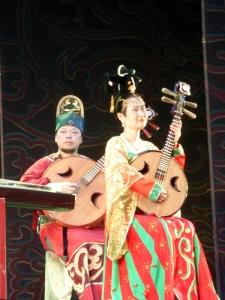 447. Xian. Cena-espectáculo de la Dinastía Tang