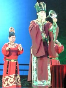 460. Xian. Cena-espectáculo de la Dinastía Tang