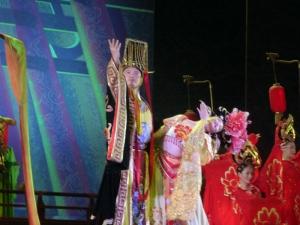 472. Xian. Cena-espectáculo de la Dinastía Tang