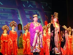 474. Xian. Cena-espectáculo de la Dinastía Tang